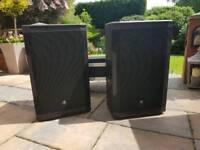 Mackie SRM550 Speakers