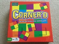 Corner'd the fast and furious colour matching game....great fun board game