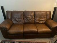 Bargain 3 Seat Recliner Sofa