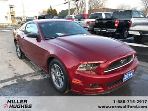2014 Ford Mustang Premium, MyKey, One Owner, Low Km's