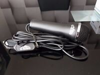 Never Been Used. U Sing Microphone With USB Lead Logitech. Unboxed.