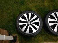 "17"" vw wheels"