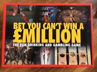 Bet you can't win a million adult drinking and gambling game