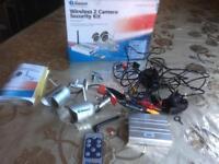 SWANN WIRELESS 2 CAMERAS SECURITY KIT CCTV CAMERAS MODEL PW2452TM SMETHWICK £45