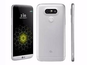 LG G5 Silver UNLOCKED 3 months old /w original box, Battery Charging Kit, case, screen protector & WARRANTY $340 FIRM