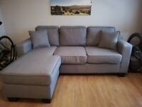 3 seater reversible chase sofa