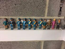 Thunderbird & Captain Scarlet collectible figures