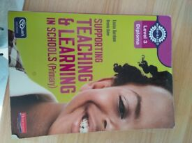 Support teaching and learning level 3 book