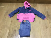 Girls Levi Jeans, T Shirt & Jacket Aged 4 - Genuine Levi From USA