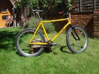 1998 Orange P7 Single Speed bike