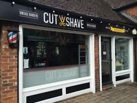 Full & Part time barbers needed at very busy barber shop in Chichester!