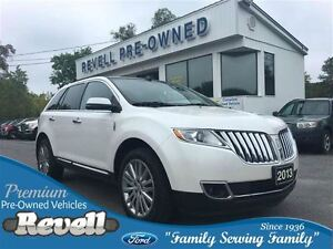 2013 Lincoln MKX AWD...Ford credit lease return, Moonroof, Htd/c