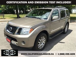 2008 Nissan Pathfinder V8 LE 7PASS LEATHER LOADED - 4X4