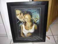 BUFFY THE VAMPIRE SLAYER PRINT ARTIST DUNCAN GUTTERIDGE 36/50