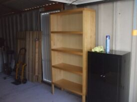 bookcase brown good condition.