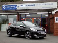 PEUGEOT 208 1.6 THP GTi 3dr (200 BHP) ** 1 Private Owner + Only 26k ** (black) 2015