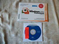 dell windows 2000 pro genuine
