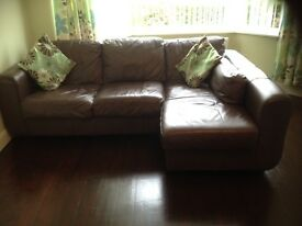 3 seater lounger sofa & matching 2 seater sofa