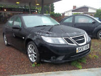57 PLATE LATE 2007 SAAB VECTOR SPORT TID DIESEL 2 OWNERS FSH IMMACULATE NEW MOT ONLY £2995