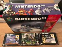 Nintendo 64 immaculate condition good as brand new
