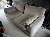 Sofa - 3 seater, grey, very good condition, smoke free. £30