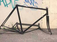 Reynolds 531 Steel Bike Frame, retro 54cm - BRAND NEW PAINT JOB