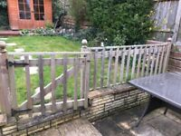 Fence and gate for sale