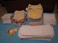 14x Birth to potty cloth diapers bundle