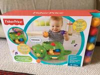 Fisher-Price Double Poppin' Dino toddler toy 6-36 months. Brand new in unopened box