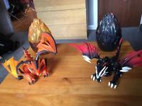 Mega blocks toy dragons