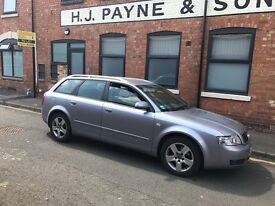 Audi A4 diesel estate automatic. Very tidy example