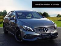 Mercedes-Benz A Class A 200 AMG LINE PREMIUM (grey) 2018-01-19