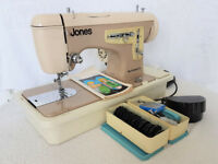 Jones Automatic Heavy Duty Sewing Machine - Excellent Condition