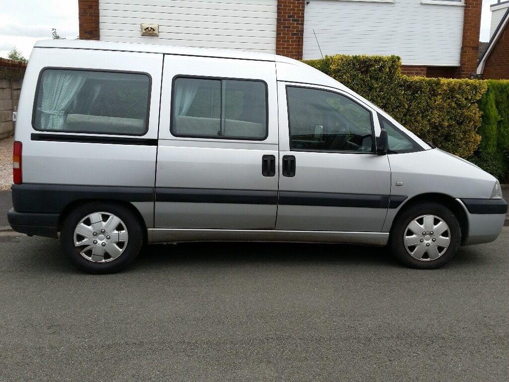 Fiat Scudo Camper Conversion Van
