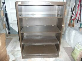 BOOK SHELVES /FILLING CABINET or STORAGE UNITS.