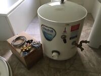 Gledhill Stainless Lite, Unvented , Direct , Mains Pressure, Hot Water Cylinder 90 Litres. £170