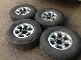 Alloy wheels £100