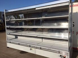 10 ft Low Fronted Troy Capital cooling Display Fridge