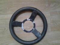 old mini sports steering wheel. free if you can use it