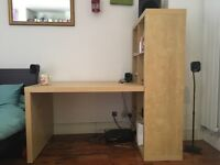 Perfect for students! Desk and box shelving only £40 (desk chair free if wanted too)