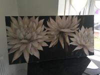 Gorgeous flower wall canvas