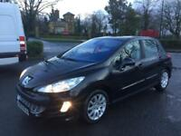 2008 PEUGEOT 308 ** PANO ROOF SERVICE HISTORY TOP OF RANGE 100% EXCELLENT RUNNER 69K MILES **