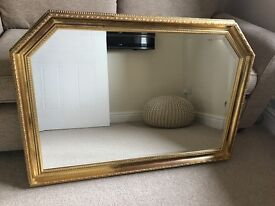 Large Gold Mirror *** Excellent condition ***