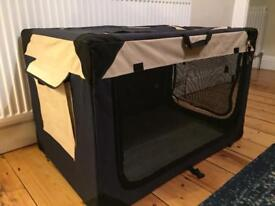 Fabric dog crate (offers accepted)