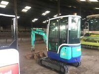 IHi 18nxt mini digger tractor excavator JCB