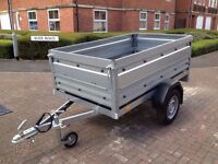 trailer THULE Brenderup 1205 s,with Extension Side Kit