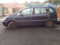 Vauxhall Zafira *BREAKING*