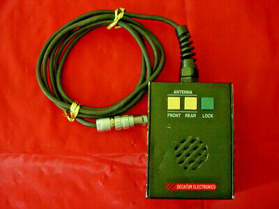 Decatur Genesis I Police Radar Handheld Remote