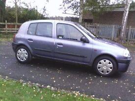 X reg Vauxhall Clio automatic 12 months mot