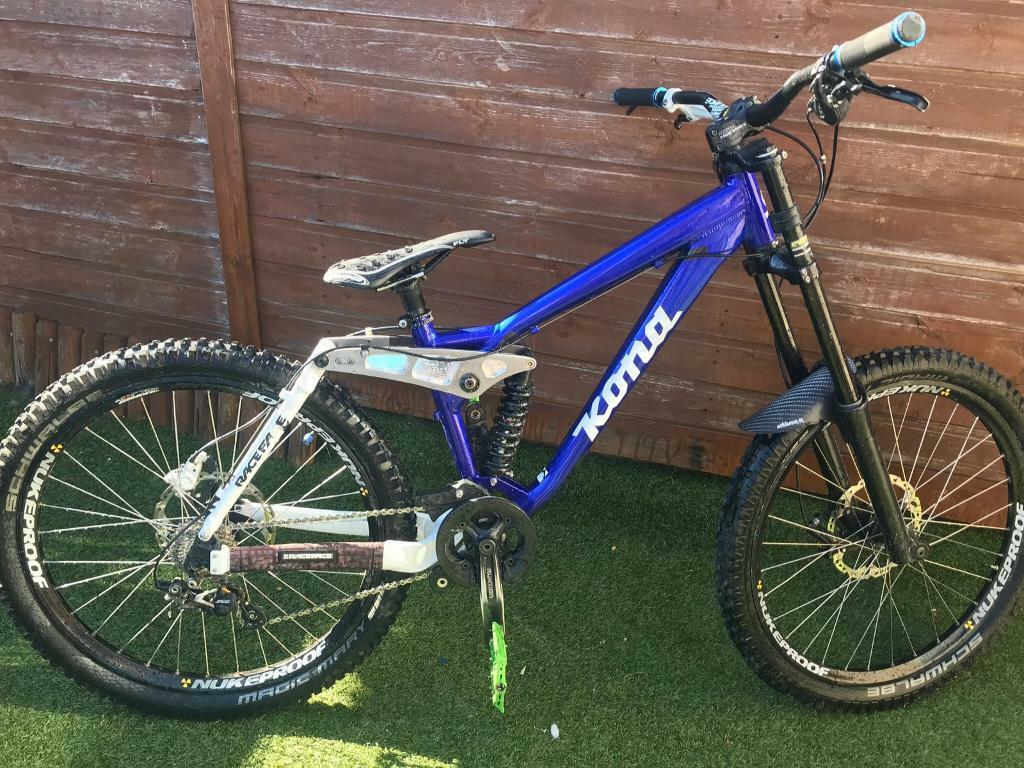 ced79663751 Kona Stinky Stab downhill jump bike swap mountain bike   in Barrow ...